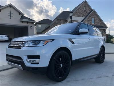 2017 Land Rover Range Rover Sport lease in SPRING,TX - Swapalease.com