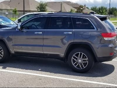 2017 Jeep Grand Cherokee lease in League City,TX - Swapalease.com