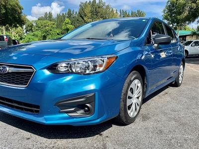 2019 Subaru Impreza lease in Boynton Beach,FL - Swapalease.com