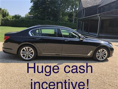 2018 BMW 7 Series lease in New York,NY - Swapalease.com
