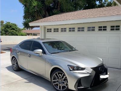 2018 Lexus IS 300 F Sport lease in Oxnard,CA - Swapalease.com