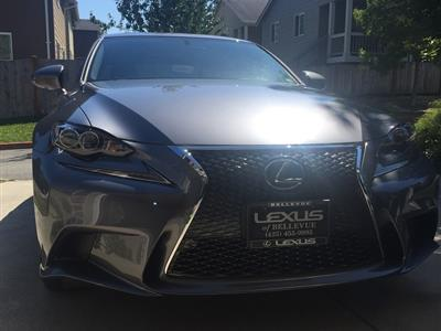 2016 Lexus IS 300 F Sport lease in Vista,CA - Swapalease.com