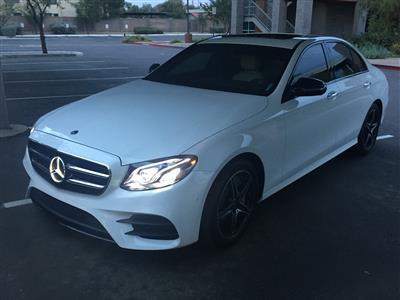 2018 Mercedes-Benz E-Class lease in PHEONIX,AZ - Swapalease.com