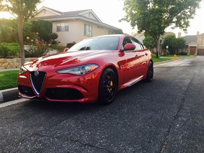 2017 Alfa Romeo Giulia lease in Toulca Lake,CA - Swapalease.com