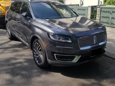 2019 Lincoln Nautilus lease in Brooklyn,NY - Swapalease.com