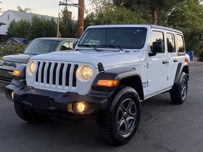 2018 Jeep Wrangler Unlimited lease in Valley Village,CA - Swapalease.com