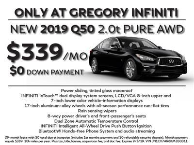 2019 Infiniti Q50 lease in Libertyville,IL - Swapalease.com