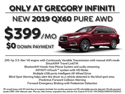 2019 Infiniti QX60 lease in Libertyville,IL - Swapalease.com
