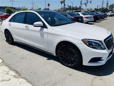 2016 Mercedes-Benz S-Class lease in Granada Hills,CA - Swapalease.com