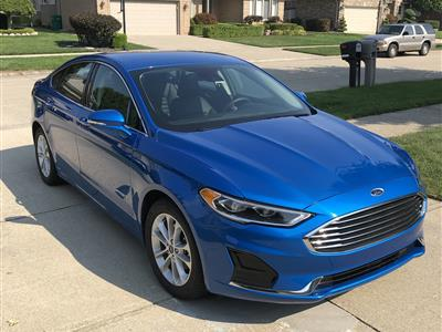 2019 Ford Fusion Hybrid lease in Macomb,MI - Swapalease.com