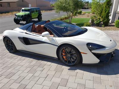 2019 McLaren 570S Spider lease in Henderson,NV - Swapalease.com