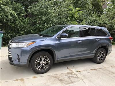 2019 Toyota Highlander lease in East Lansing,MI - Swapalease.com