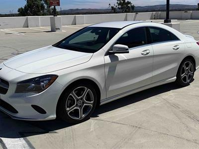 2018 Mercedes-Benz CLA Coupe lease in Irvine,CA - Swapalease.com