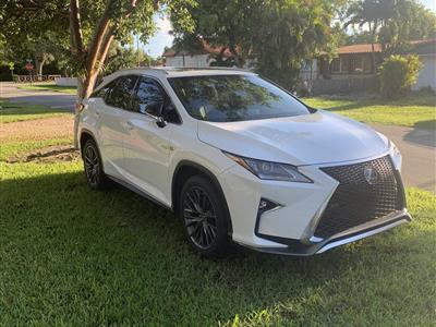 2018 Lexus RX 350 F Sport lease in Miami Springs,FL - Swapalease.com
