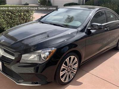2018 Mercedes-Benz CLA Coupe lease in Washington,DC - Swapalease.com