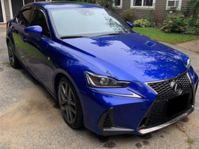 2017 Lexus IS 300 F Sport lease in Woodstock,CT - Swapalease.com