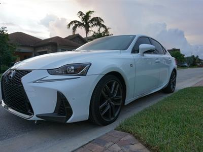 2019 Lexus IS 300 F Sport lease in Naples,FL - Swapalease.com