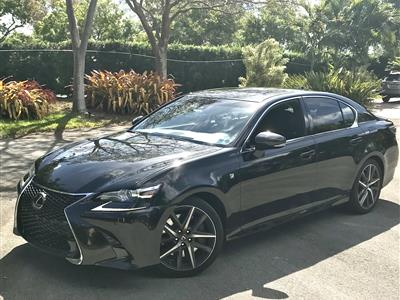 2017 Lexus GS 350 F Sport lease in Platation,FL - Swapalease.com