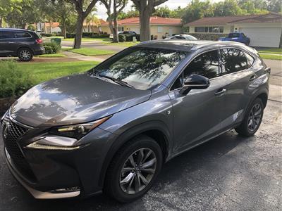 2017 Lexus NX 200t F Sport lease in Hialeah,FL - Swapalease.com