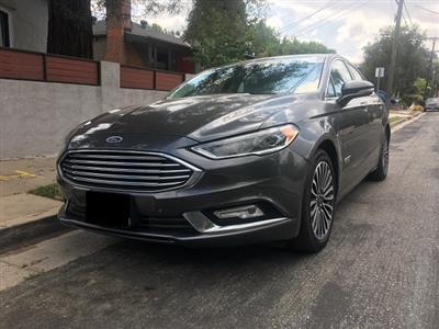 2017 Ford Fusion Energi lease in LA,CA - Swapalease.com