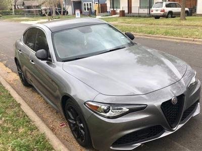 2017 Alfa Romeo Giulia lease in Dallas,TX - Swapalease.com