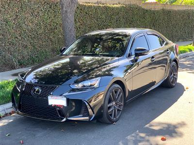2019 Lexus IS 350 F Sport lease in Oxnard,CA - Swapalease.com