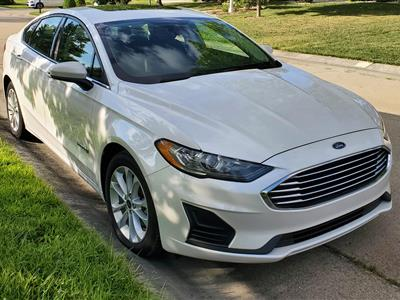 2019 Ford Fusion Hybrid lease in Chicago,IL - Swapalease.com