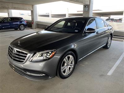 2018 Mercedes-Benz S-Class lease in PROSPER,TX - Swapalease.com