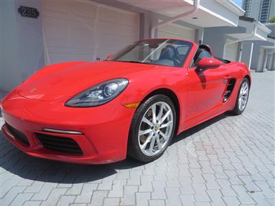 2017 Porsche 718 lease in Sunny Isles beach,FL - Swapalease.com