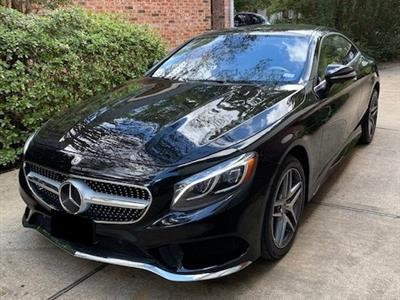 2017 Mercedes-Benz S-Class Coupe lease in The Woodlands,TX - Swapalease.com