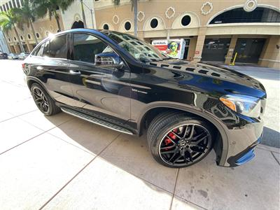 2019 Mercedes-Benz GLE-Class Coupe lease in Miami,FL - Swapalease.com