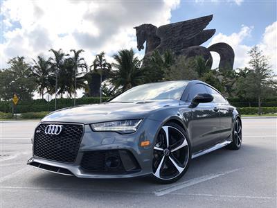 2016 Audi RS7 lease in Sunny Isles Beach,FL - Swapalease.com