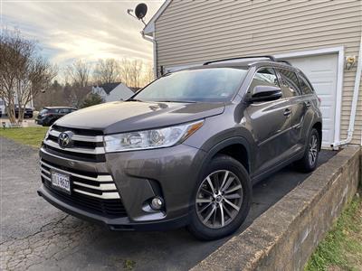 2019 Toyota Highlander lease in MANASSASS PARK,VA - Swapalease.com