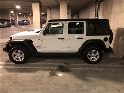 2019 Jeep Wrangler Unlimited lease in Los Angeles,CA - Swapalease.com