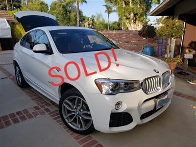 2018 BMW X4 lease in Fountain Valley,CA - Swapalease.com