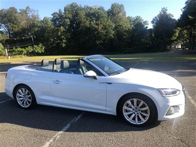 2018 Audi A5 Cabriolet lease in Cresskill,NJ - Swapalease.com