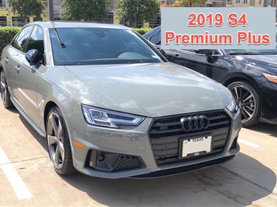 2019 Audi S4 lease in Dallas,TX - Swapalease.com