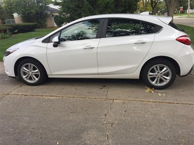 2018 Chevrolet Cruze lease in Troy,MI - Swapalease.com