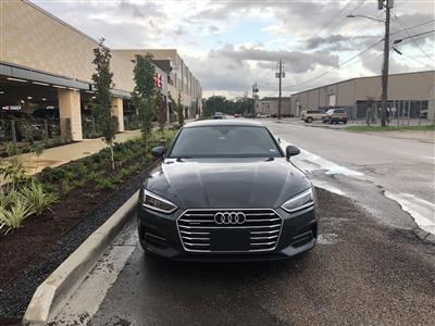 2019 Audi A5 Sportback lease in Houston,TX - Swapalease.com