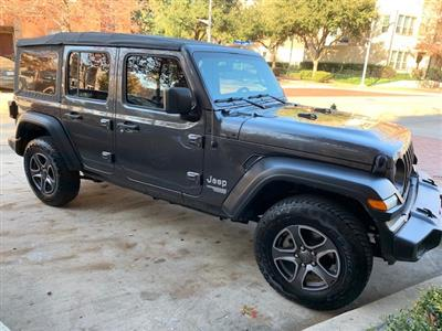 2018 Jeep Wrangler Unlimited lease in Fort Worth,TX - Swapalease.com