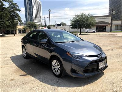 2018 Toyota Corolla lease in Houston,TX - Swapalease.com