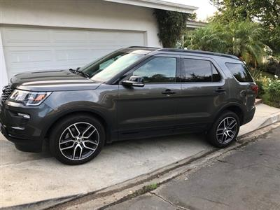 2018 Ford Explorer lease in Studio City,CA - Swapalease.com