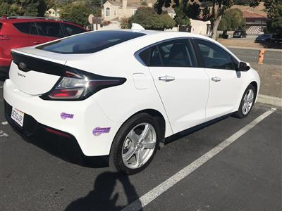 2018 Chevrolet Volt lease in Milpitas,CA - Swapalease.com