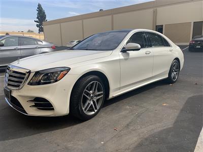2018 Mercedes-Benz S-Class lease in San Francisco,CA - Swapalease.com