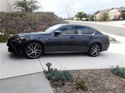 2018 Lexus GS 350 F Sport lease in Vista,CA - Swapalease.com