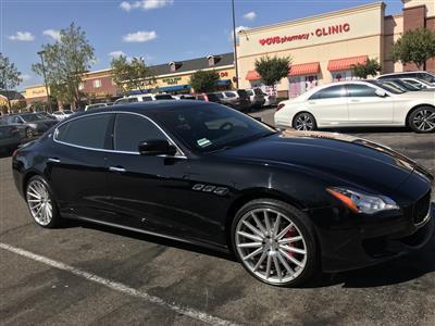 2016 Maserati Quattroporte lease in buena park,CA - Swapalease.com