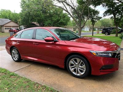 2018 Honda Accord lease in Austin,TX - Swapalease.com