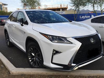 2019 Lexus RX 350 F Sport lease in Scottsdale,AZ - Swapalease.com