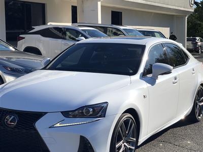 2018 Lexus IS 300 F Sport lease in Stamfort,CT - Swapalease.com