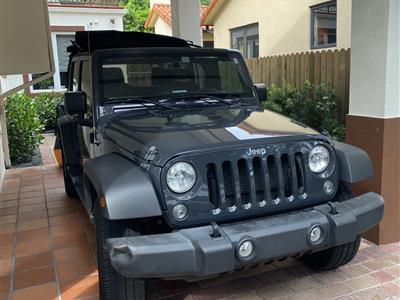 2018 Jeep Wrangler lease in Miami,FL - Swapalease.com